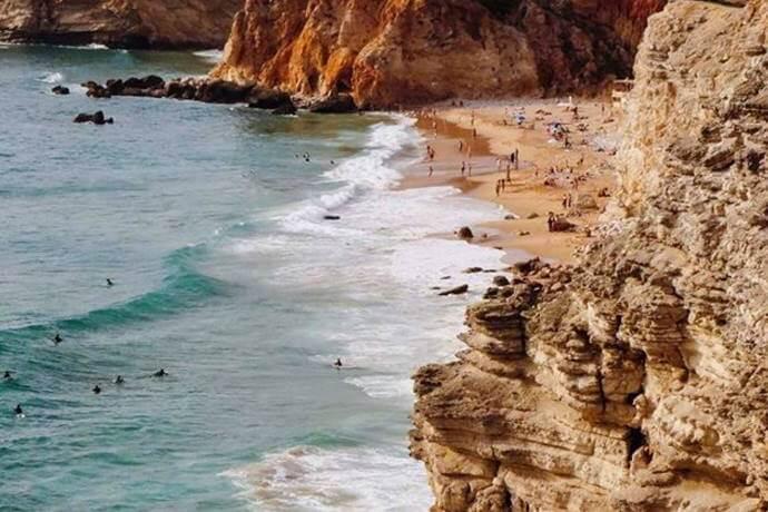 Sagres and Salema Coastline