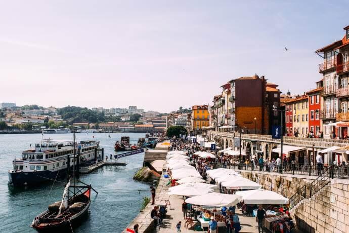 Riverside in Ribeira Porto