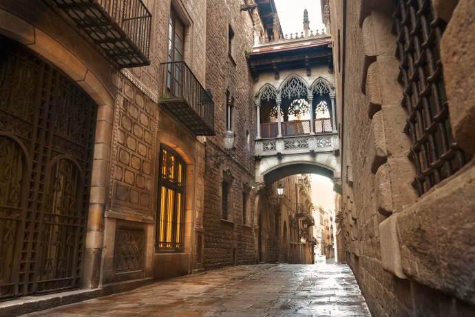 Barrio Gótico & Cathedral